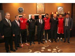 Stso Başkanı Yıldırım'dan, Sivasspor'a 100 Bin Lira Prim