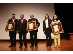 Çorum'da Şehit Ailesi Ve Gazilere Devlet Övünç Madalyası Verildi