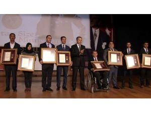 Gazi Kentin Gazilerine Övünç Madalyası Verildi