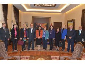 Türk Kızılayı'ndan Vali Civelek'e Ziyaret