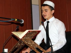 Taşlıçay'da Kur'an-ı Kerim'i Güzel Okumak Ve Ezan Okuma Yarışması