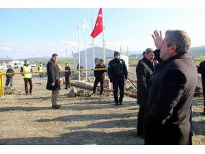 """""""Lojistik Köy"""" Şantiyesinde Gerginlik"""