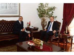 Ankara Emniyet Müdürü Mahmut Karaaslan'dan Vali Kılıçlar'a Ziyaret