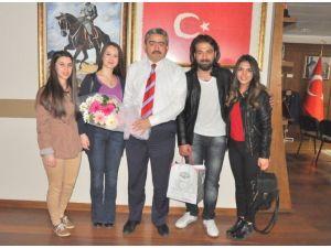 ADÜ İşletme Topluluğu Gençleri Başkan Alıcık'a Teşekkür Etti