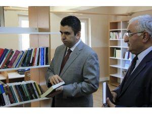 Narman'da Zenginleştirilmiş Kütüphane Açılışı