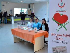 ADÜ Hastanesinde Organ Ve Doku Bağışına Dikkat Çekildi