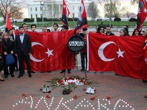 ABD'de yaşayan Türkler Ankara'daki terör saldırısını protesto etti