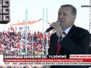 Erdoğan: Koynunuzda yılan besliyorsunuz