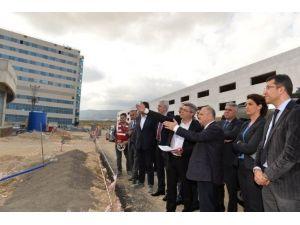 Şehir Hastanesinin Anahtar Teslimi Temmuz Sonunda Yapılacak