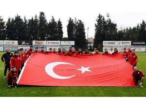 Galatasaray 18 Mart Çanakkale Zaferi Andı