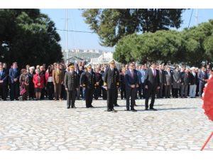 Çanakkale Zaferi'nin 101. Yılı Nedeniyle Foça'da Tören