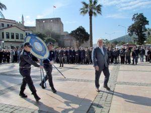 Çeşme'de Çanakkale Zaferi'ne Anlamlı Tören