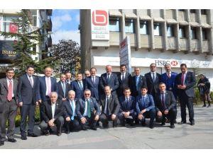 Mehmet Özhaseki Başkanlar Birliği'ni Ziyaret Etti