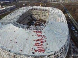 Samsun'un Yeni Stadının Yüzde 75'i Tamamlandı