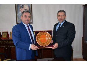 Dersiad Nevşehir Şubesinden Müftü Yakup Öztük'e Ziyaret