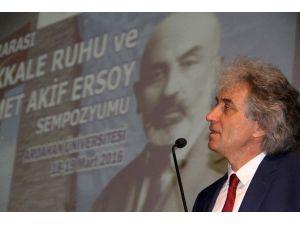 ARÜ'de 'Çanakkale Ruhu Ve Mehmet Akif Ersoy Sempozyumu'