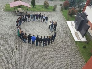 Öğrencilerden Birlik Ve Beraberlik Mesajı