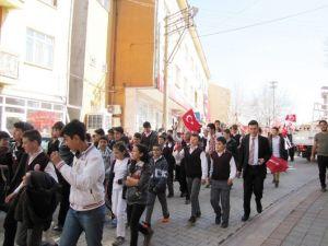 Hisarcık'ta Zafer Yürüyüşü