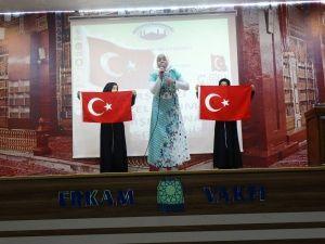 Kur'an Kursu Öğrencileri Arası İstiklal Marşını Güzel Okuma Yarışması