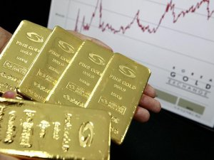 Altının kilogramı 114 bin 900 liraya geriledi