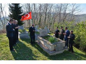 Musul Şehidi Mezarı Başında Anıldı