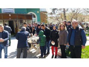 Çan'da Şehitler İçin Mevlit Okutuldu