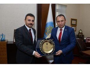 Aşdağul Belediye Başkanı'ndan Külcü'ye Teşekkür Ziyareti