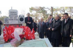 Çanakkale Kahramanı Koca Seyit Mezarı Başında Anıldı