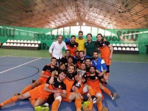 İnönü Üniversitesi Salon Futbol Takımı 1.lige Yükseldi