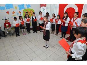 Öğrenciler, Çanakkale Ruhunu Canlandırdı