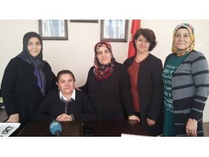 MHP Malatya Kadın Kolları Başkanı Ayşegül Gülay Coşkun;