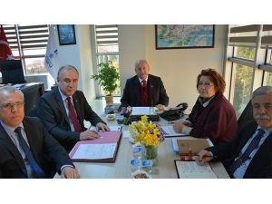 Başkan Albayrak Teski Yönetim Kurulu Toplantısına Katıldı