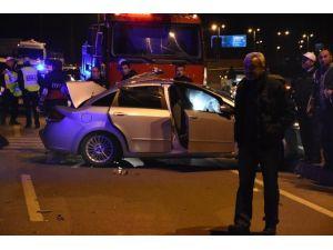 Sinop'ta Trafik Kazası: 5 Yaralı