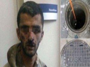 2 Gündür Kanalizasyonda Saklanan Terörist Yakalandı