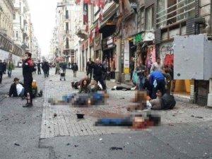 Dünya İstiklal Caddesi'ndeki Patlamayı Böyle Gördü