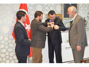 Yeşilay Başkanı Boz'dan Başkan Genç'e Ziyaret