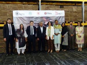 TİKA Pakistan'da Yetersiz Beslenme İle Mücadelede Çözüm Ortağı