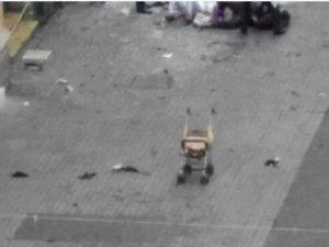 İstiklal'deki Patlamanın Ortasındaki Bebek Arabası Yürek Dağladı