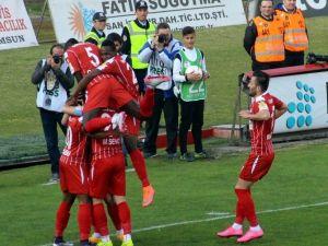 Samsunspor 6 Maç Sonra Gol Atamadı