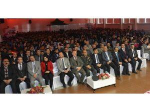 Çumra'da İstiklal Marşının Kabulü Ve Çanakkale Zaferi Kutlandı