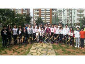 Nokta Okçuluk Mersin Spor Kulübü Madalyaları Topladı