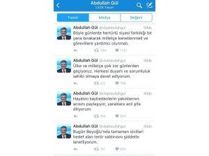 Abdullah Gül, İstiklal'deki Terör Saldırısını Lanetledi