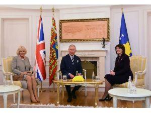 Prens Charles, Kosova'da Resmi Törenle Karşılandı