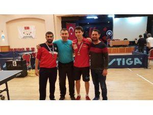Gaü, Masa Tenisi'nde Türkiye Şampiyonu