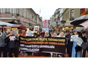 'Suriye Direnişinin 6.yılını Selamlama' Adlı Eylem Yapıldı