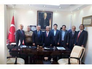 Sorgun Platformu'ndan Yeni Çeltek Genel Müdürü Dr. Osman Coşkun'a Ziyaret