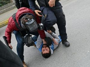 Bakırköy'de Eylemcilere Müdahale