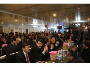 Mardin'e Atanan Milli Eğitim Müdürüne Veda Yemeği