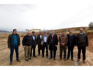 Çakır, Çamurlu'da Yeni Açılan Yolu İnceledi