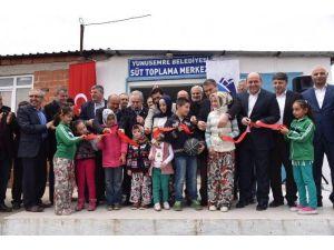Yuntdağı'nda Süt Toplama Merkezi Açıldı